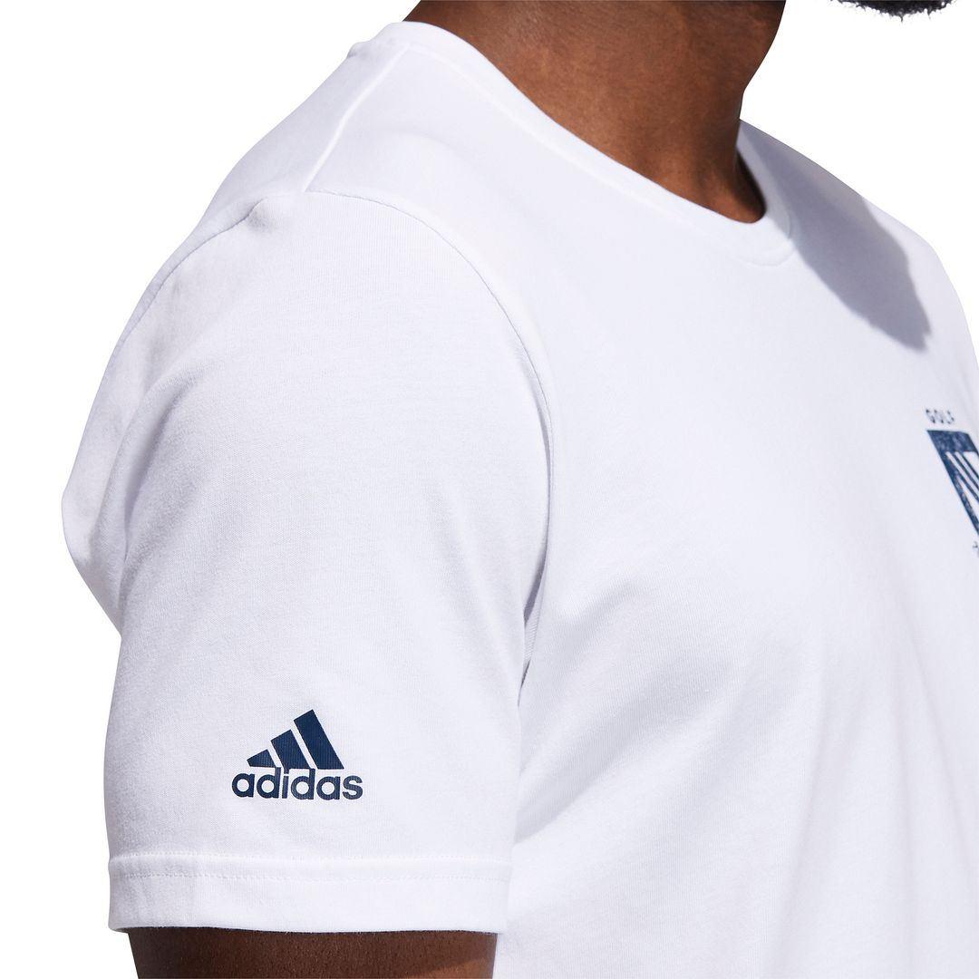 thumbnail 8 - ADIDAS Golf Mens Championship Stretch Lightweight 3-Stripes T-Shirt