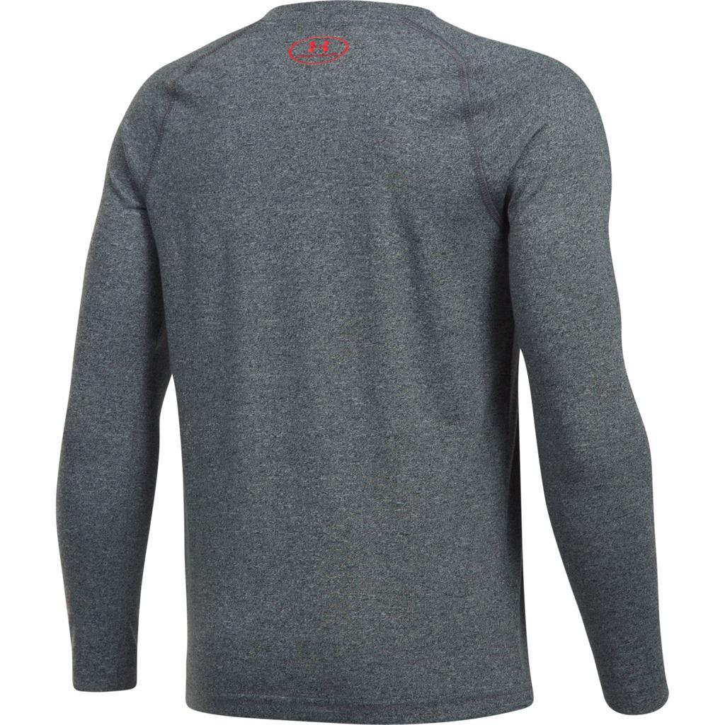 Under-Armour-Youth-Boys-Hybrid-Big-Logo-Long-Sleeve-T-Shirt-40-OFF thumbnail 5