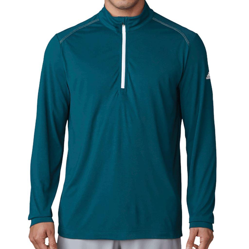 adidas-Golf-Lightweight-Layer-Performance-UPF-1-4-Zip-Mens-Pullover thumbnail 5