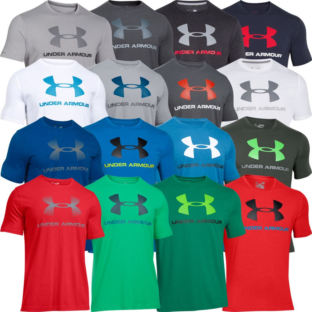 Under armour 2018 mens charged cotton sportstyle logo tee for Under armour i will shirt