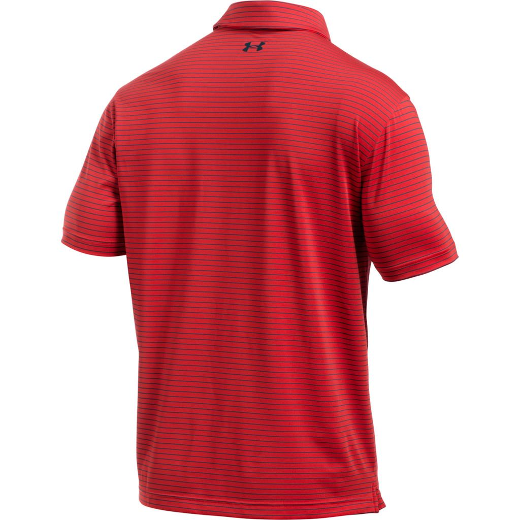 New for 2017 under armour playoff polo ua mens performance for Polo golf performance shirt
