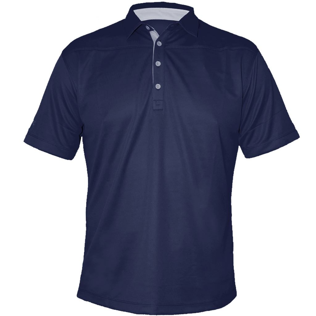 stromberg golf 2017 cool dry tech performance mens fitted golf polo shirt ebay. Black Bedroom Furniture Sets. Home Design Ideas
