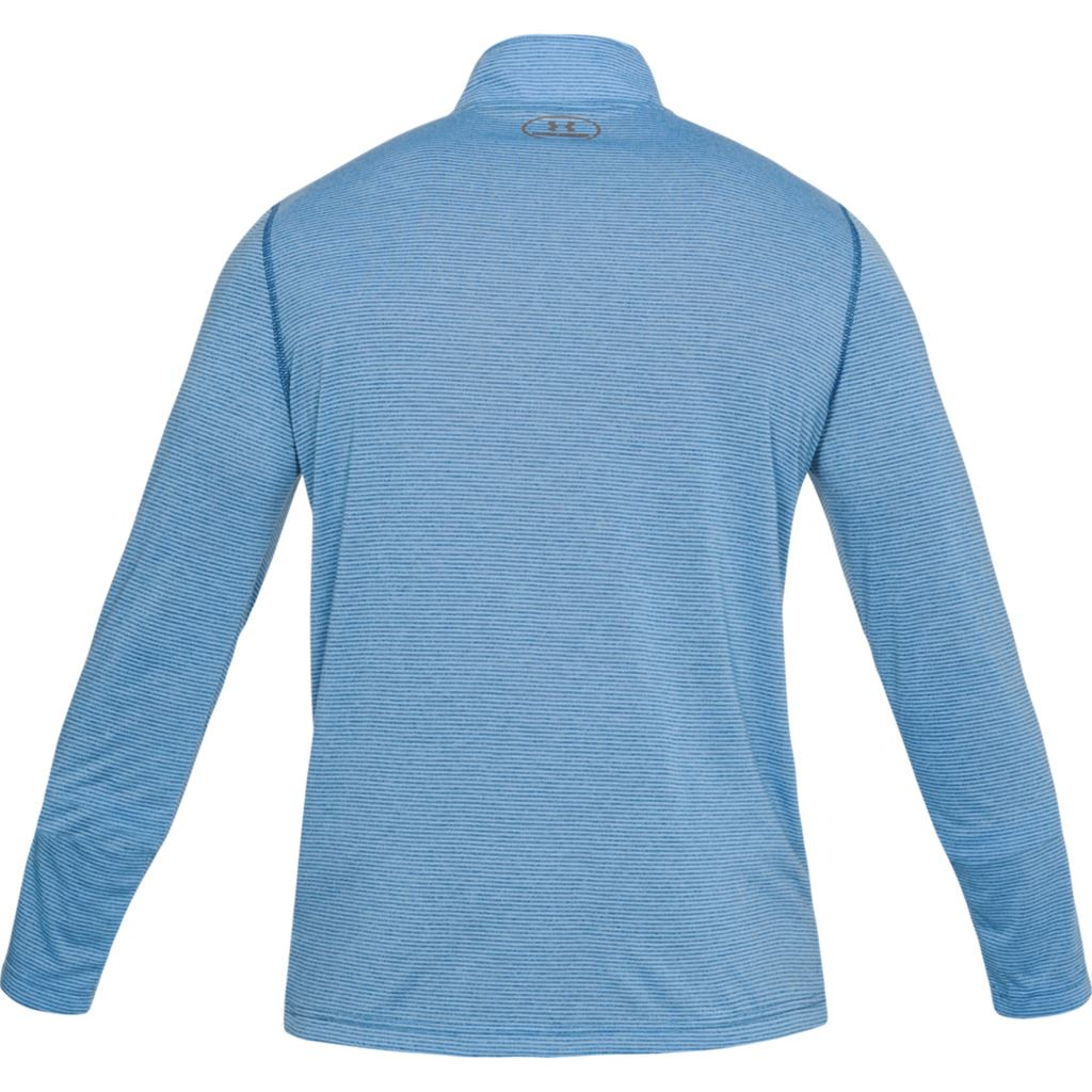 UNDER-ARMOUR-THREADBORNE-1-4-ZIP-PULLOVER-MENS-FITTED-SWEATER-TRAINING-TOP thumbnail 7
