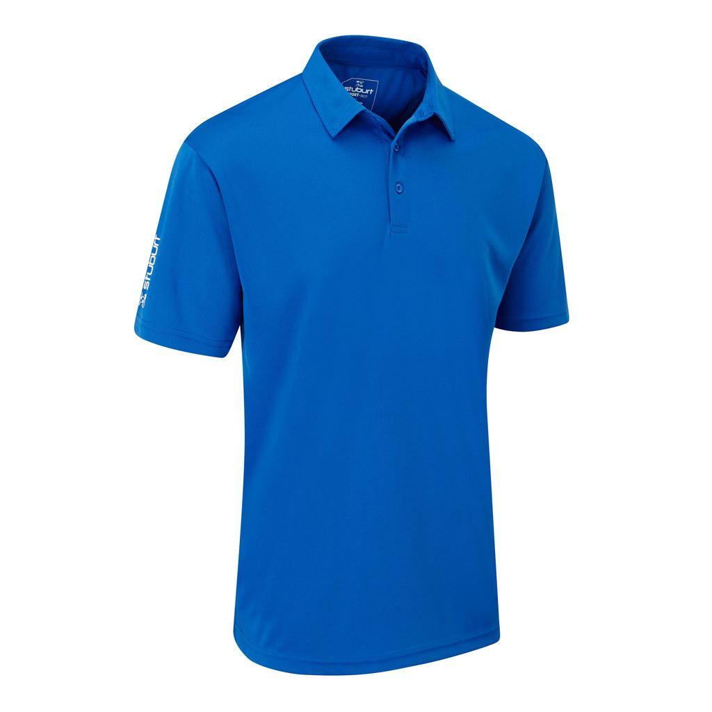stuburt golf herren sport tech breathable hemd funky golf polo shirt ebay. Black Bedroom Furniture Sets. Home Design Ideas