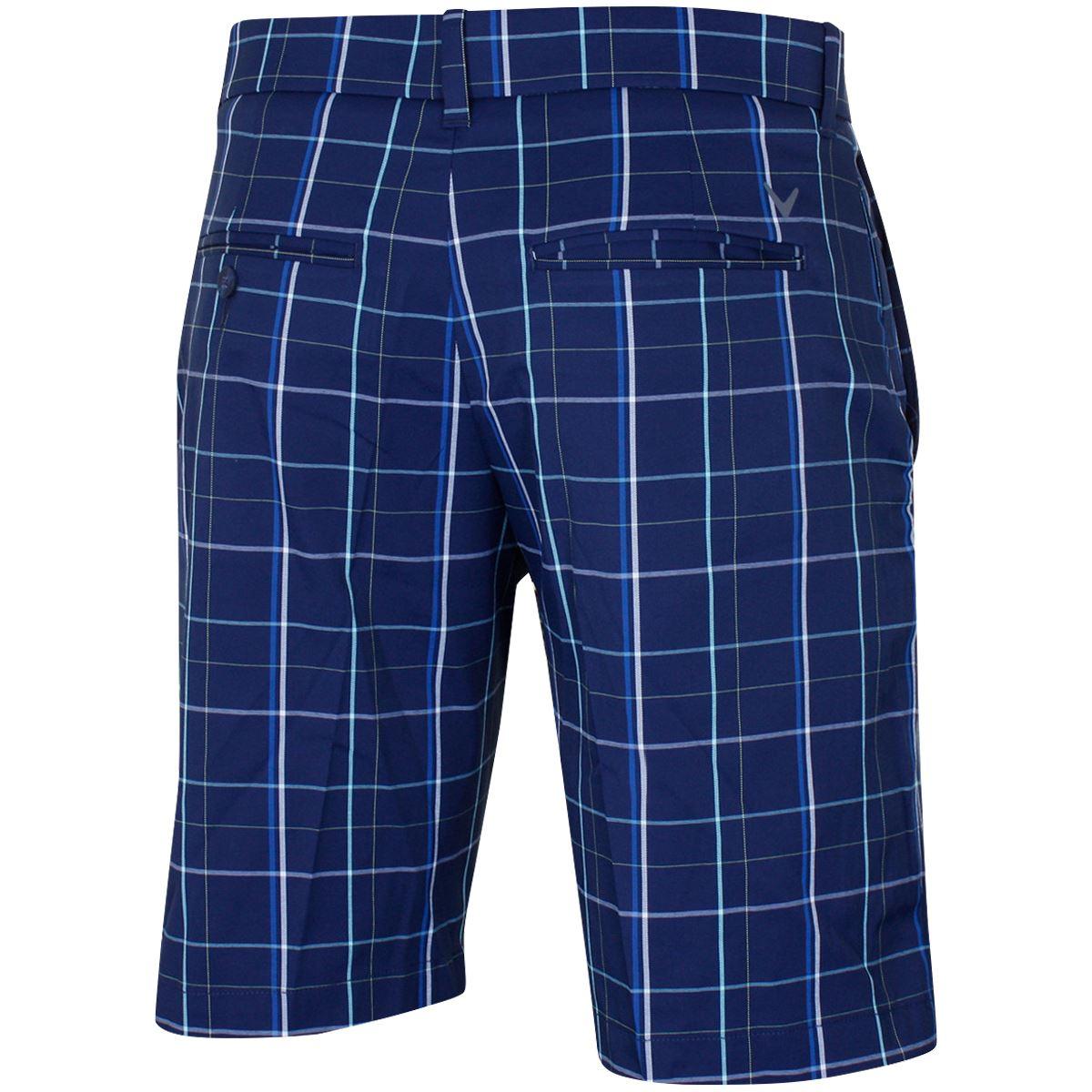 Callaway-Golf-Fashion-Plaid-Flat-Front-Mens-Stretch-Golf-Shorts thumbnail 3