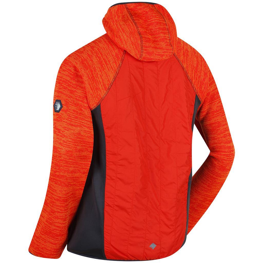 Regatta 2018 Herren Rocknell Kapuzen Hybrid Marl Fleece Fleece Fleece Jacke 51985e