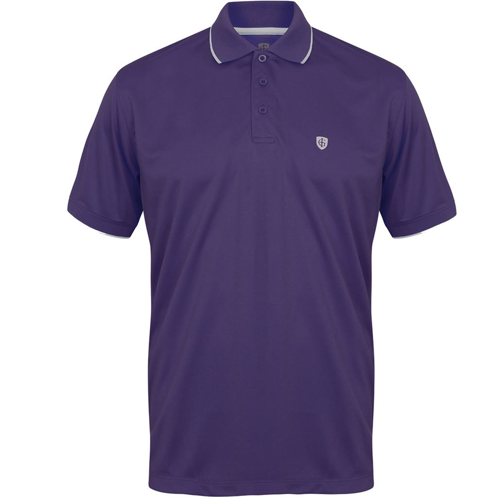 Island green classic logo chest performance cool pass mens for Name brand golf shirts