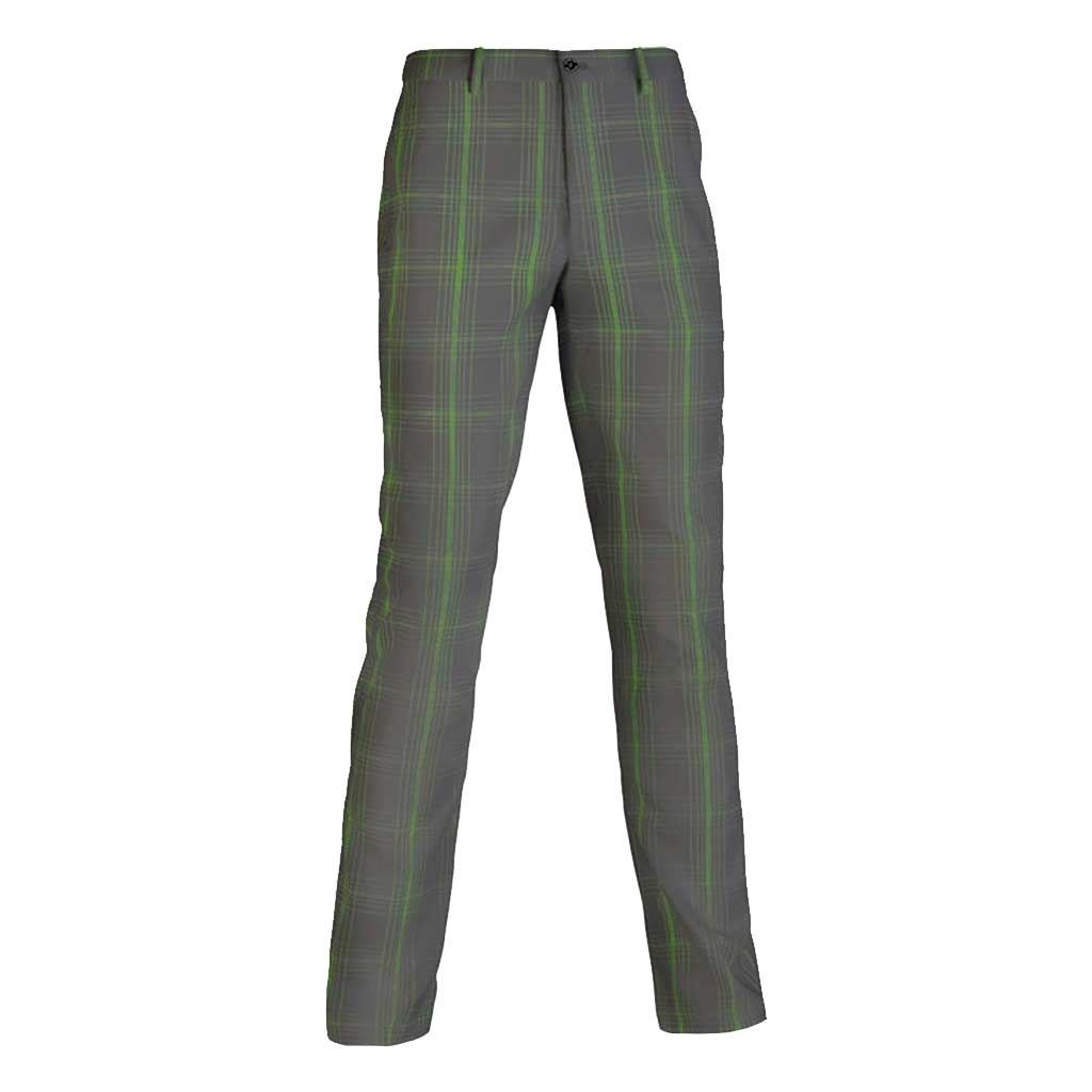 52-OFF-RRP-MIZUNO-GOLF-FINELINE-CHECK-PANTS-MENS-PERFORMANCE-FLAT-FRONT-TROUSERS thumbnail 2