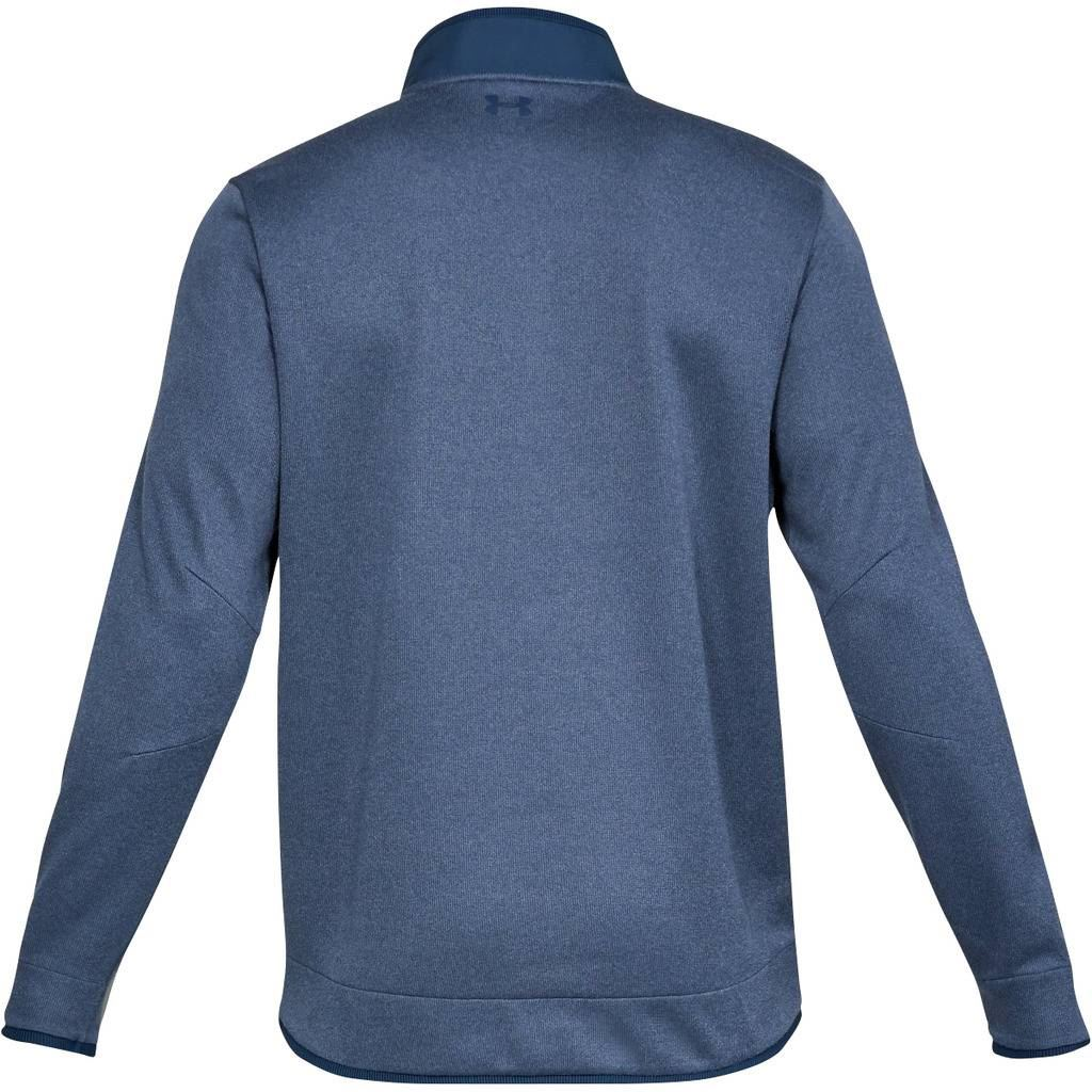 UNDER-ARMOUR-UA-MENS-STORM-SWEATER-WATER-REPELLENT-SNAP-MOCK-PULLOVER-50-OFF thumbnail 3
