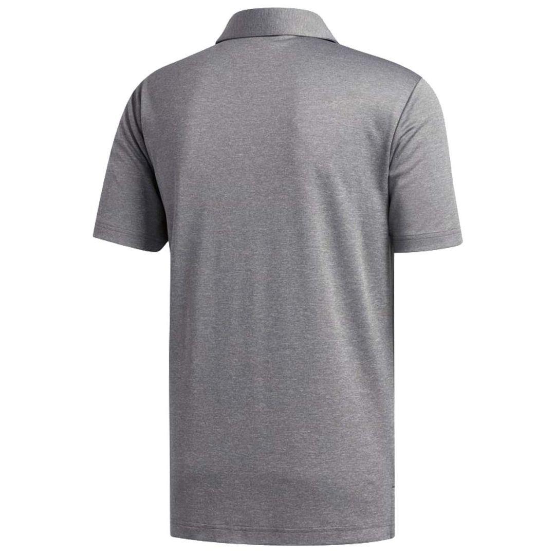 adidas-Golf-2019-Mens-Heather-Blocked-Short-Sleeve-Golf-Polo-Shirt thumbnail 3