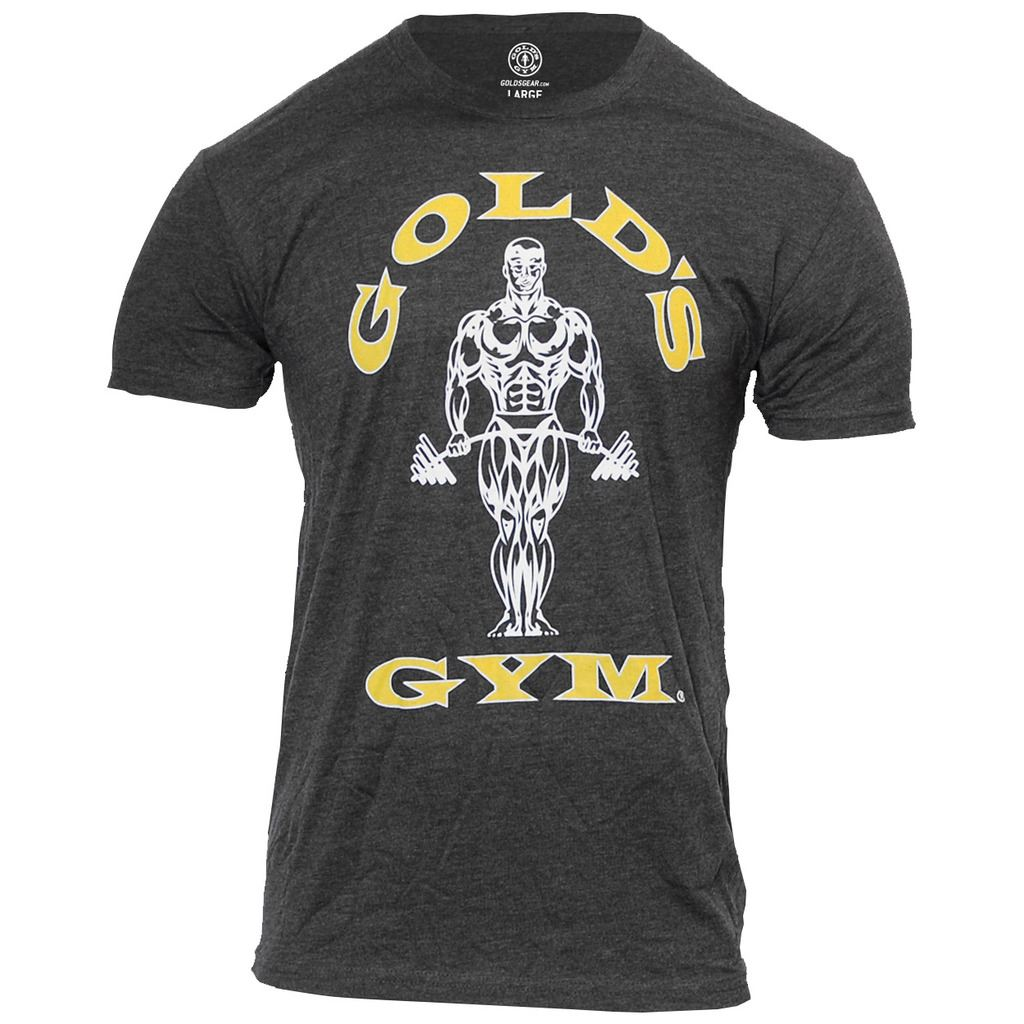 Gold-039-s-Gym-2017-Muscle-Joe-Fitness-T-shirt-Sport-Formation-Hommes-Tee