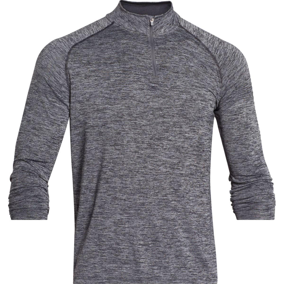Under-Armour-AW-2018-UA-Mens-Cover-Up-LS-Sports-Shirt-Gym-Top-T-Shirt