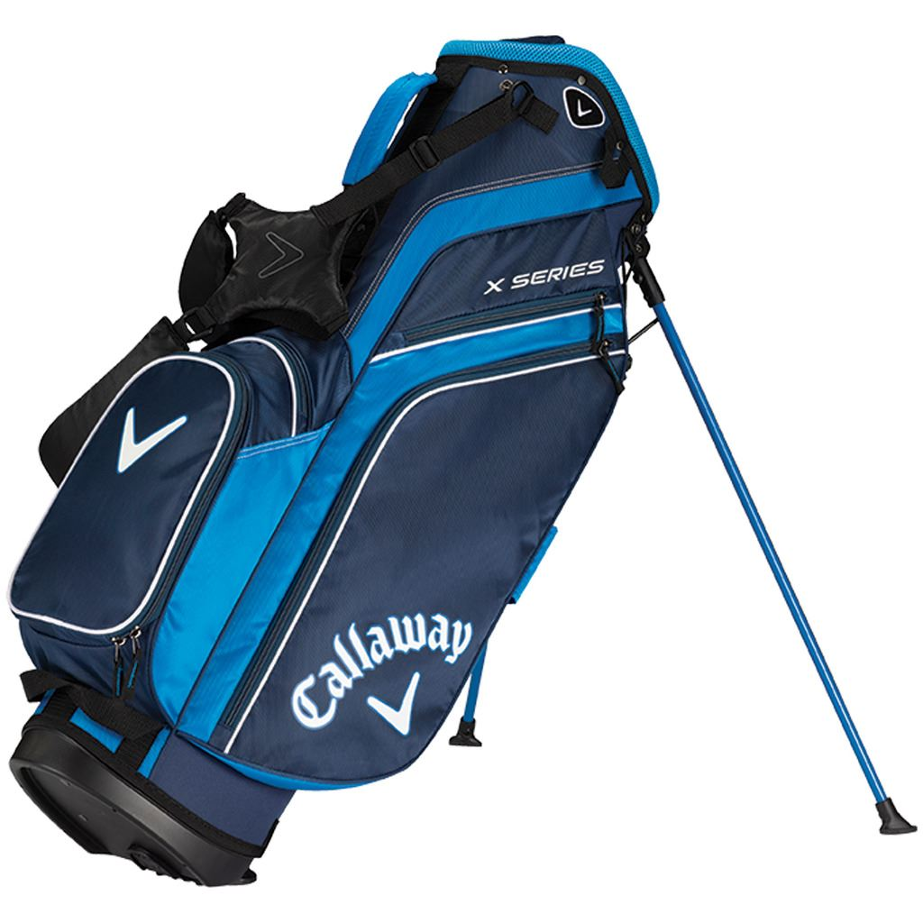callaway golf 2019 x series stand bag carry golf bag 6 way. Black Bedroom Furniture Sets. Home Design Ideas