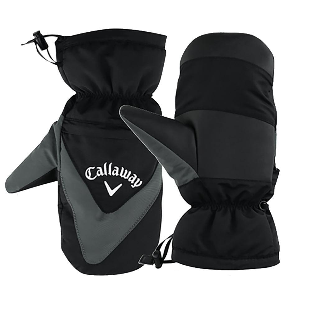 callaway 2017 winter thermal mitts mens waterproof golf gloves mittensmittens ebay. Black Bedroom Furniture Sets. Home Design Ideas