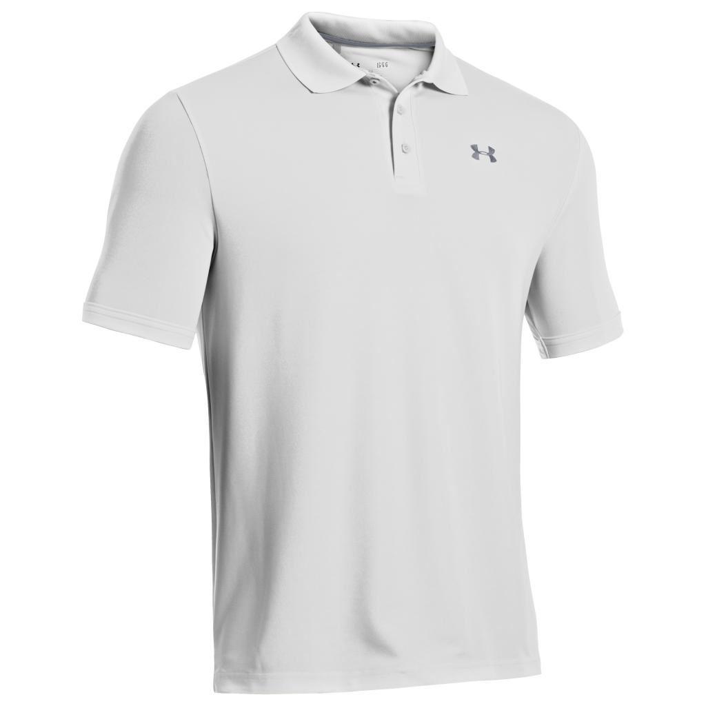 2018 under armour mens golf performance 2 0 logo chest for Polo golf performance shirt