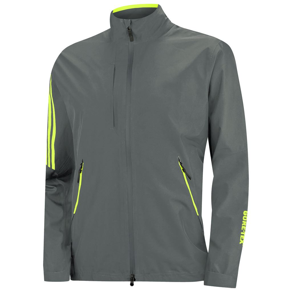 45-OFF-RRP-adidas-MENS-GOLF-JACKET-CLIMAPROOF-GORE-TEX-TWO-LAYER-CHEST-POCKET thumbnail 2