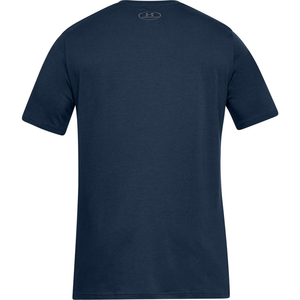 UNDER-ARMOUR-MENS-UA-TEAM-ISSUE-WORDMARK-CHARGED-COTTON-TOP-T-SHIRT thumbnail 3