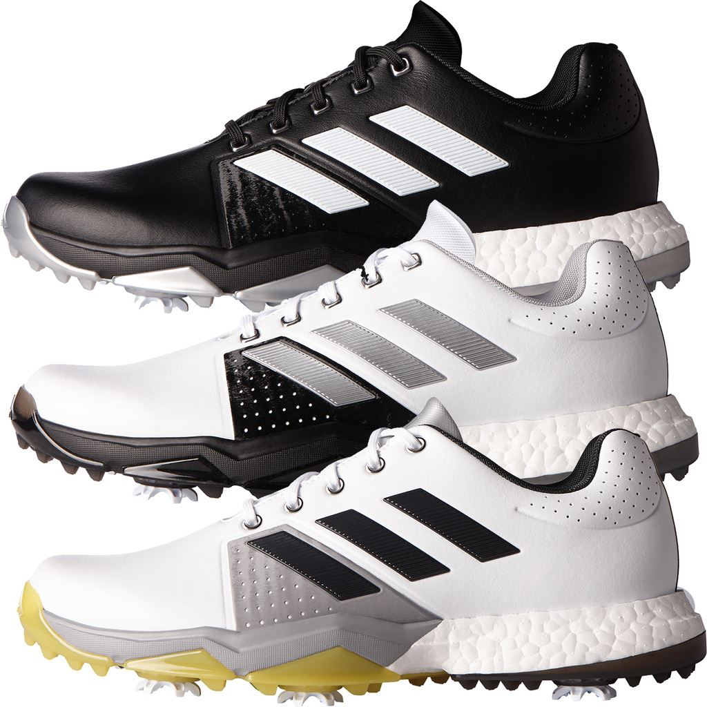release date a7485 94c9e Image is loading adidas-Adipower-Boost-3-Mens-Spikes-Waterproof-Leather-