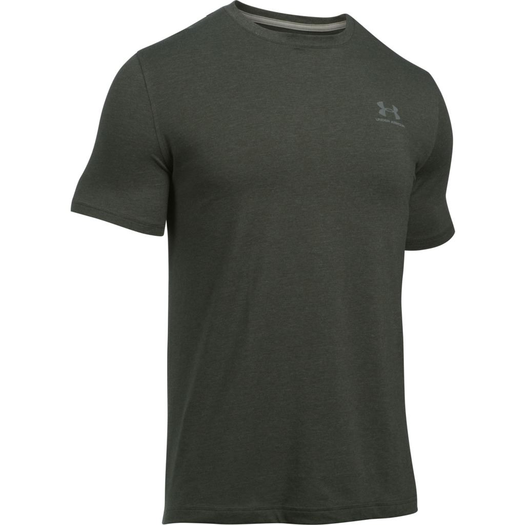 Under armour 2018 mens charged cotton logo chest lockup t for Under armor business shirts