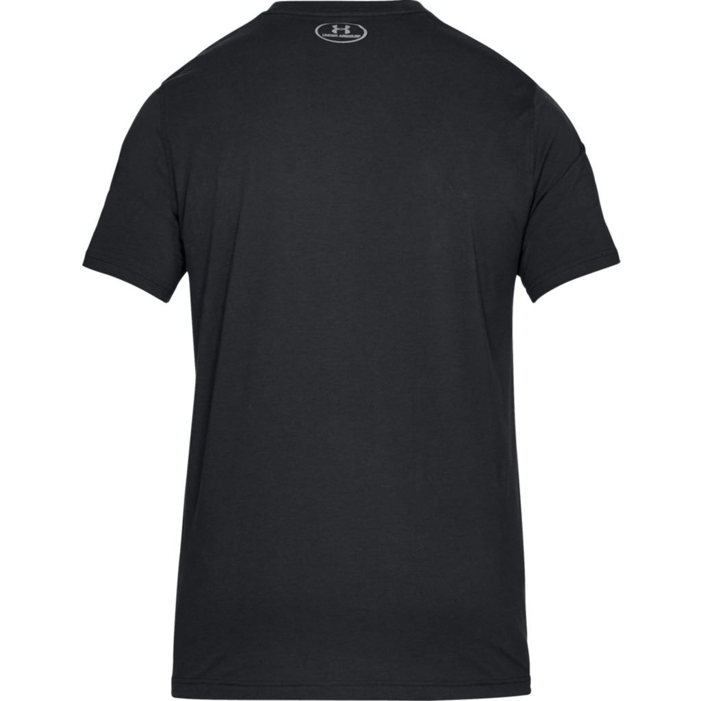 UNDER-ARMOUR-MENS-UA-BLOCKED-SPORTSTYLE-LOGO-CHARGED-COTTON-T-SHIRT thumbnail 5