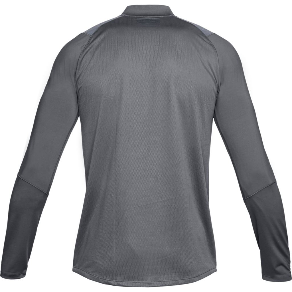 Black//Stealth Grey Raid 2.0 1//4 Zip L//S Training Top