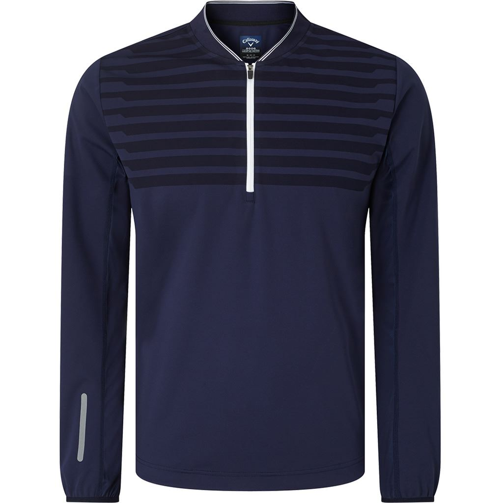 CALLAWAY-MENS-GOLF-TECHNICAL-MID-LAYER-1-4-ZIP-THERMAL-PERFORMANCE-GOLF-PULLOVER thumbnail 4