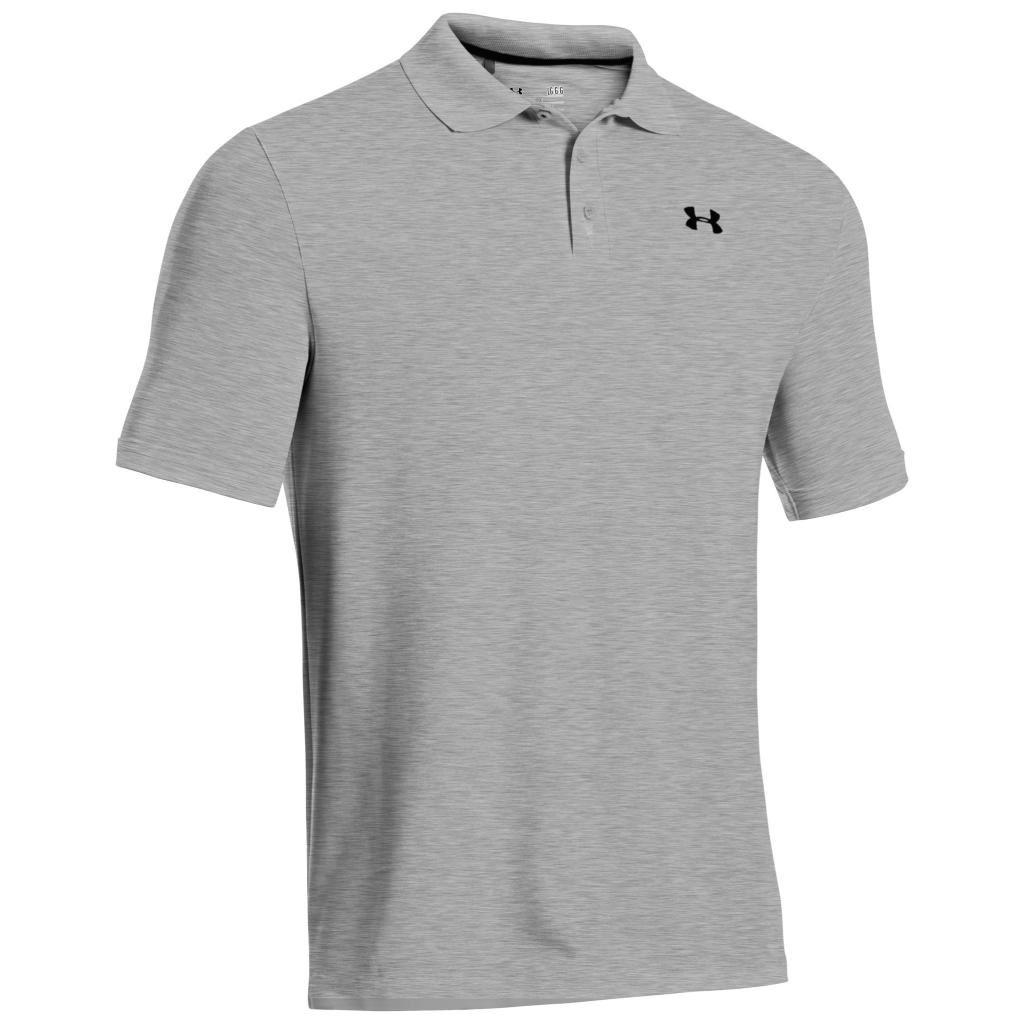2018 under armour mens golf performance 2 0 logo chest for Under armor business shirts