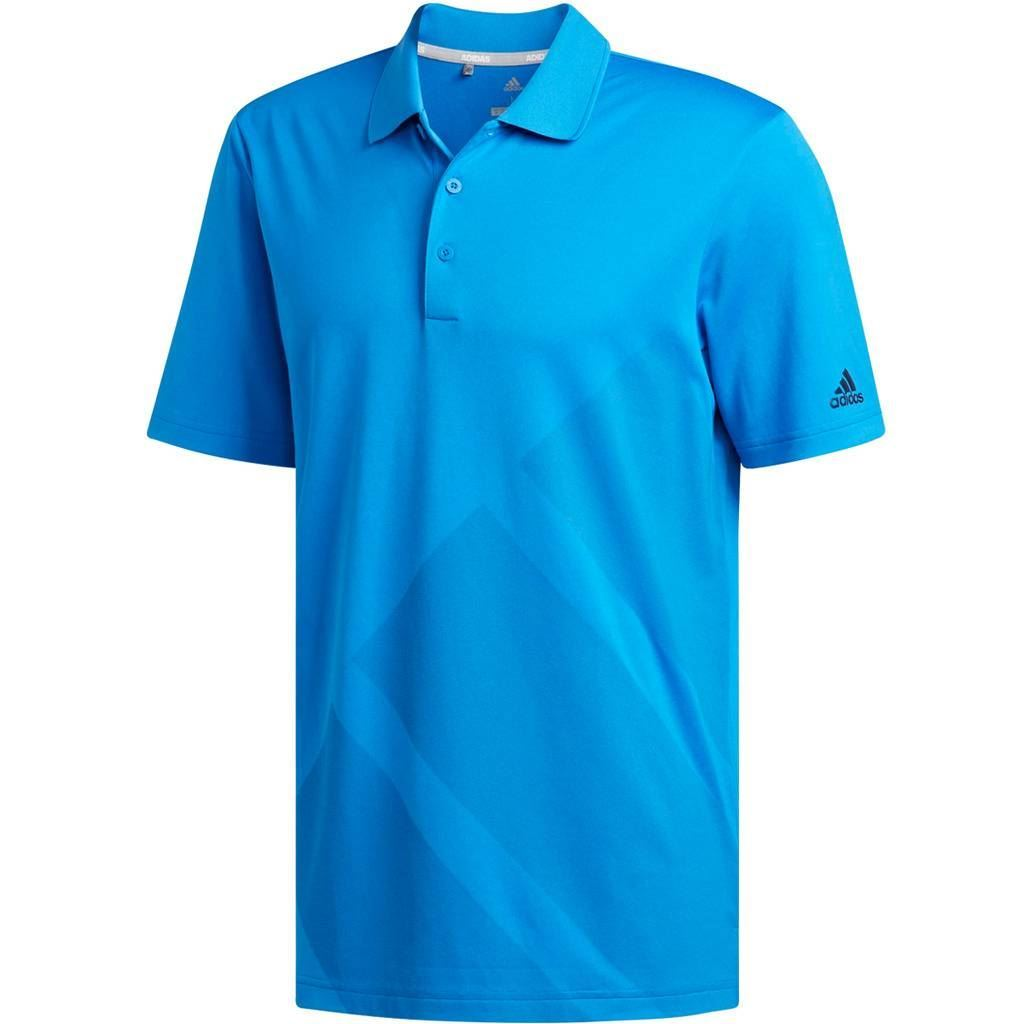 adidas golf 2018 bold 3 stripes mens golf polo shirt ebay. Black Bedroom Furniture Sets. Home Design Ideas