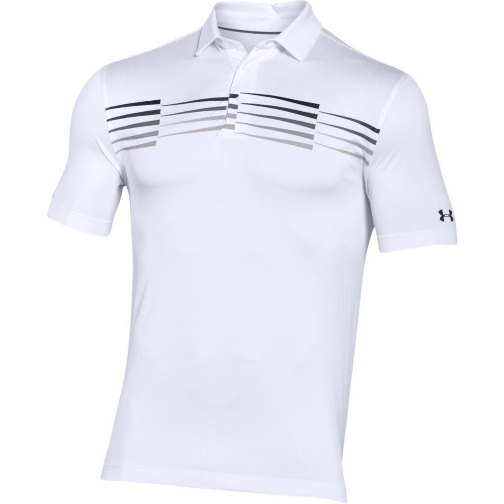under armour herren coldblack ace grafik performance golf polo shirt ebay. Black Bedroom Furniture Sets. Home Design Ideas