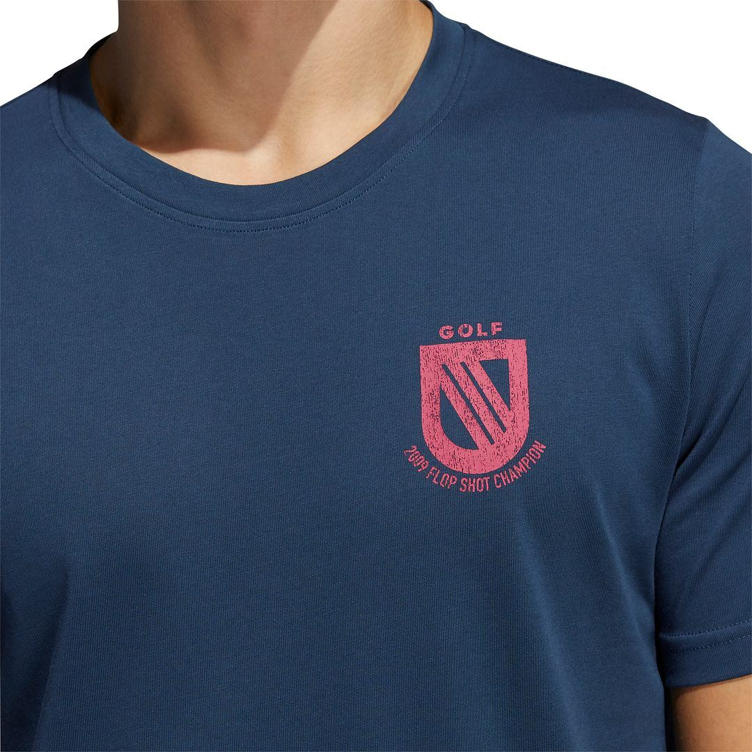 thumbnail 13 - ADIDAS Golf Mens Championship Stretch Lightweight 3-Stripes T-Shirt