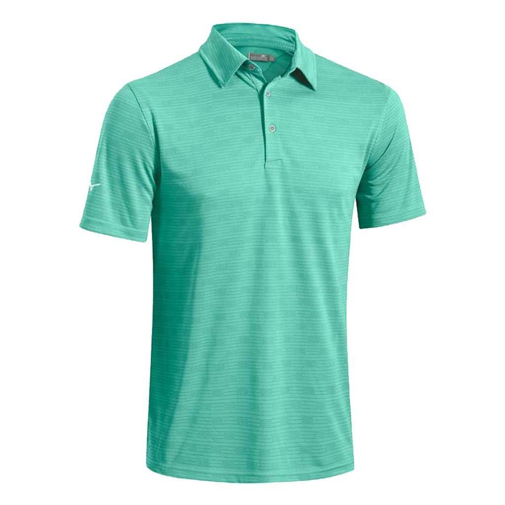 40 off mizuno herren drylite strukturierter leistung golf polo shirt ebay. Black Bedroom Furniture Sets. Home Design Ideas