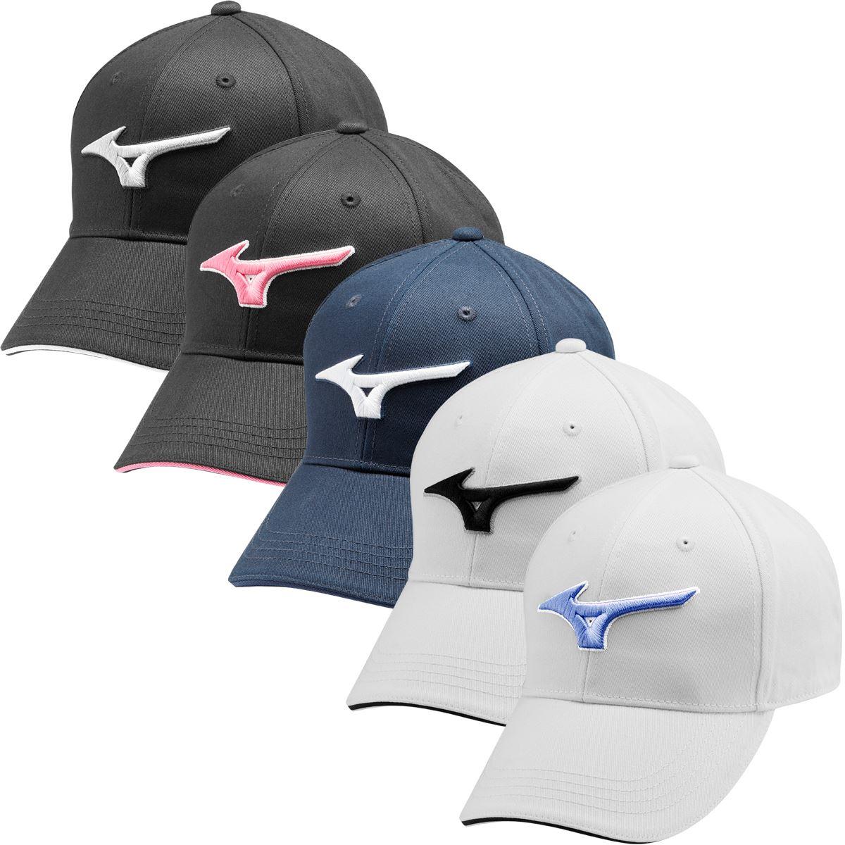 69e8f9a49 Details about Mizuno Golf 2019 Mens RB Cotton Twill Cap Adjustable  Performance Hat Golf Cap