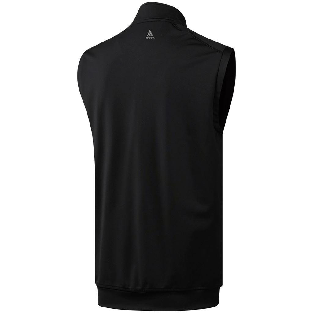 adidas-Golf-2019-Climacool-Classic-Club-1-2-Zip-Vest-Mens-Golf-Gilet thumbnail 3