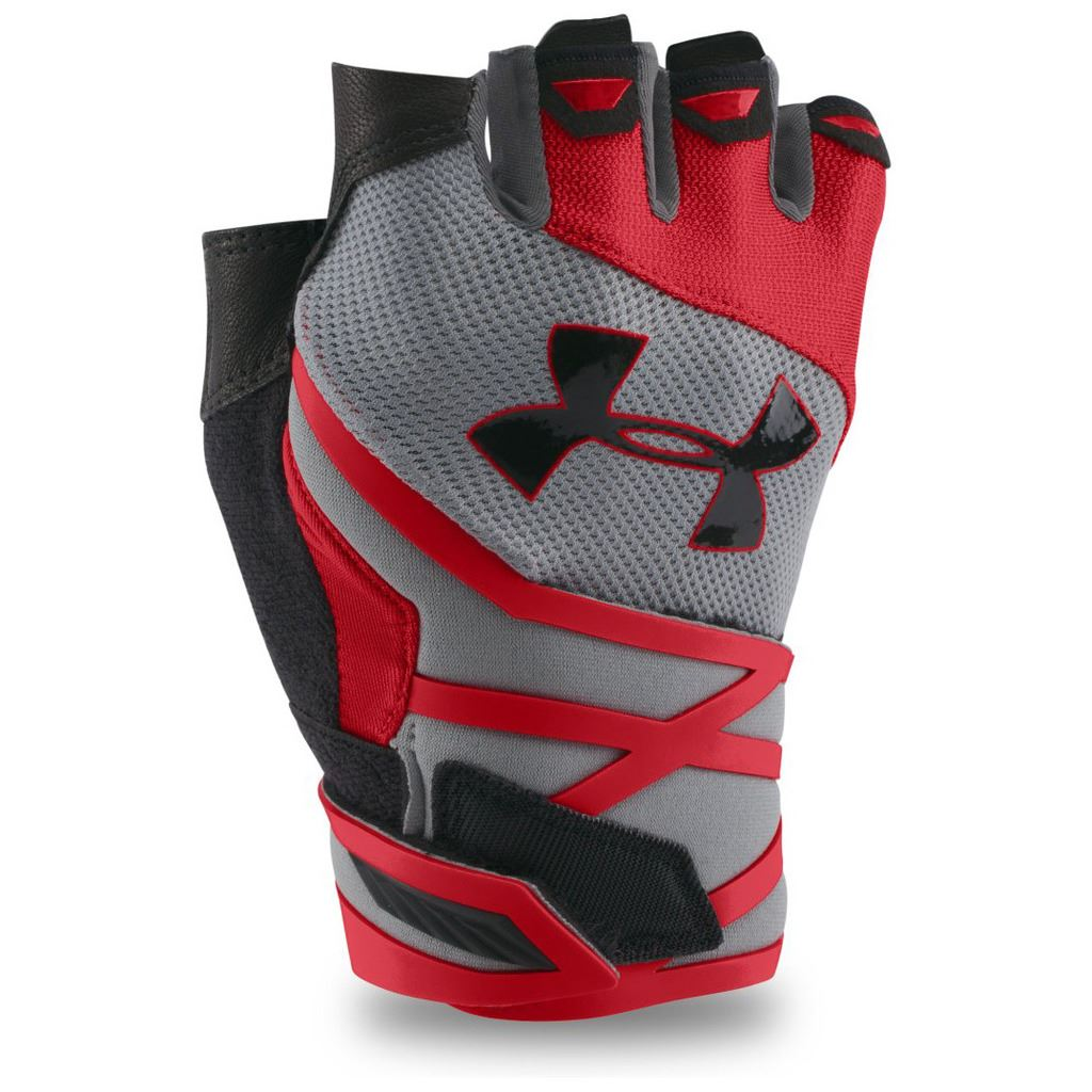 Weight Lifting Gloves Xxl: Under Armour UA Mens Resistor Training Support Gym Weight