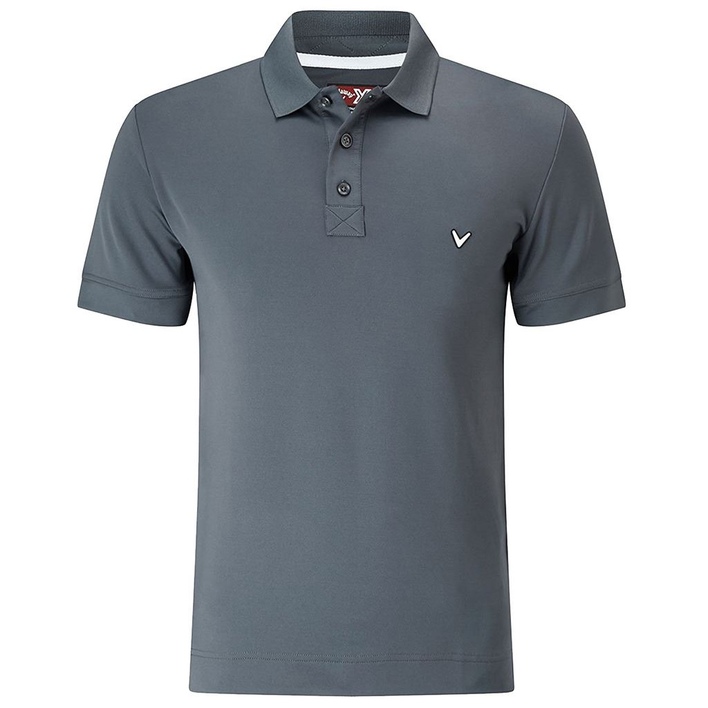 Callaway golf opti dri x range solid polo ii mens golf for Mens xs golf shirts