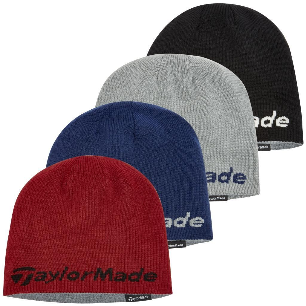 3ded33601cb WAREHOUSE SALE!!! TAYLORMADE REVERSIBLE THERMAL GOLF BEANIE DOUBLE ...