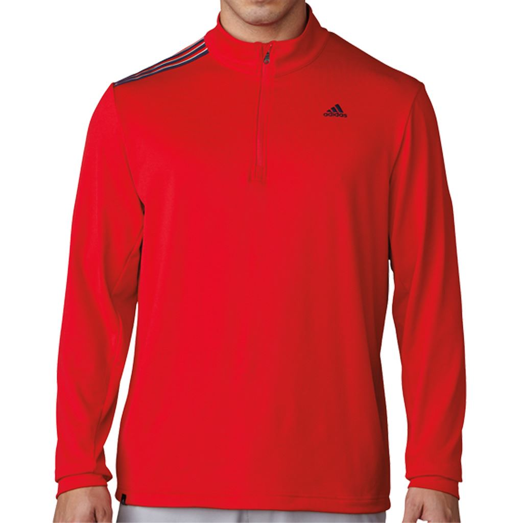 adidas-3-Stripes-French-Terry-1-4-Zip-Pullover-Training-Mens-Golf-Sweater