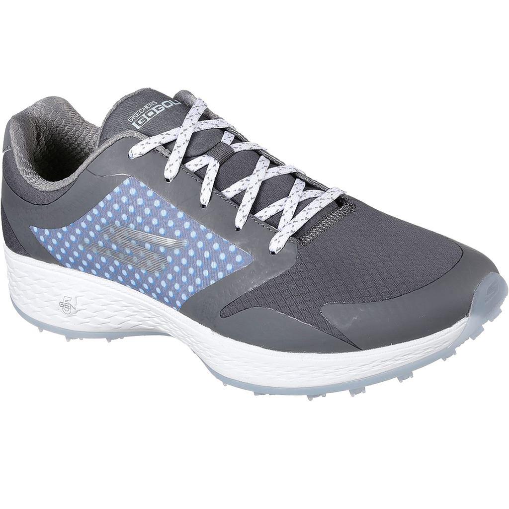 Skechers 2018 Go Golf Eagle LEAD Womens Spikeless Shoes 14864 Charcoal/Blue 6.5UK ReWQ7ZqkE