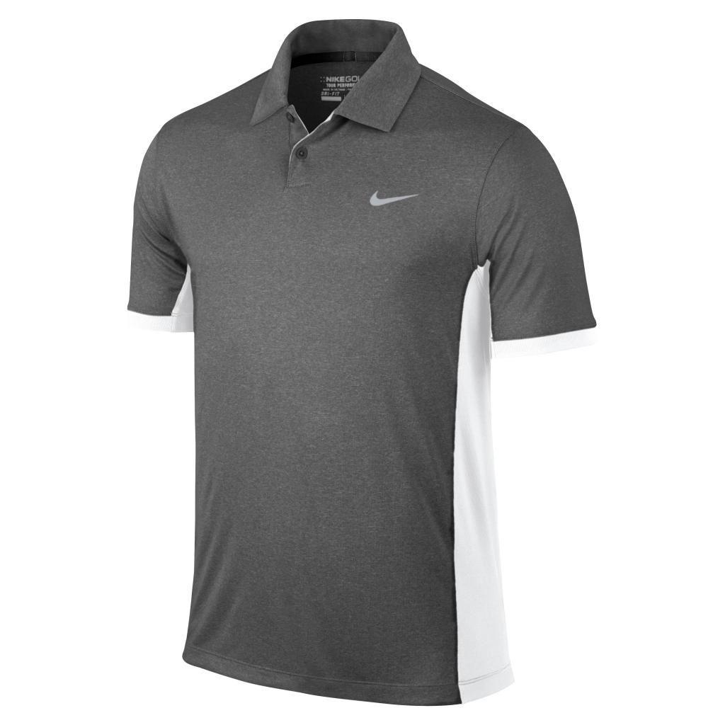 Nike victory block polo golf herren shirt logo chest ebay for Amazon logo polo shirts