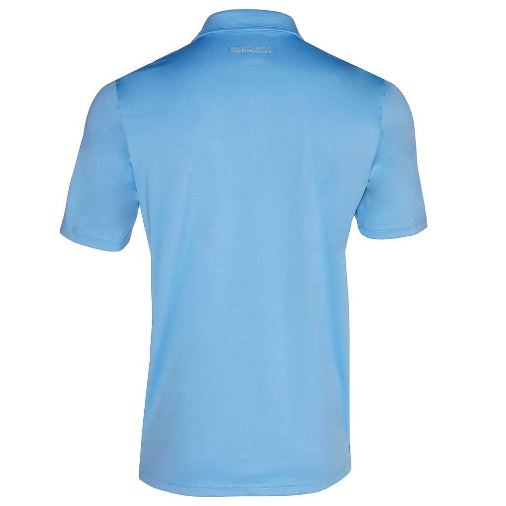 Skechers-Ir-golf-para-hombre-Sawgrass-Bolsillo-Manga-Corta-Camisas-Polo-de-rendimiento miniatura 5