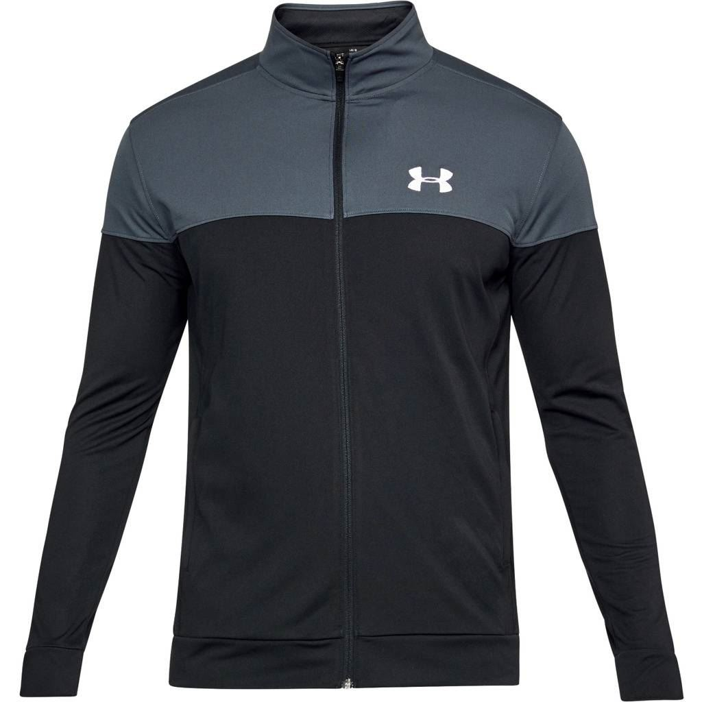 Under-Armour-2019-Mens-UA-Sportstyle-Pique-Full-Zip-Sports-Training-Track-Jacket thumbnail 4