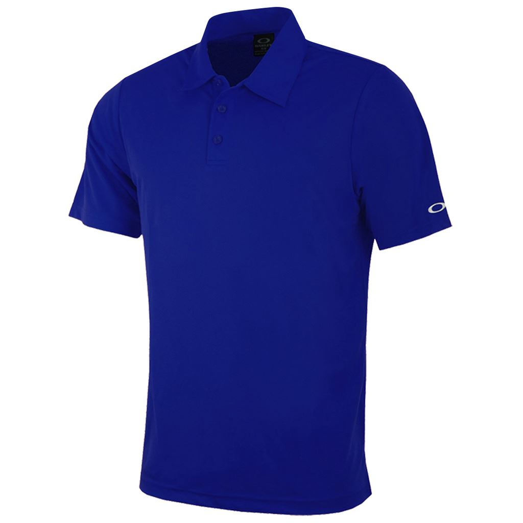 Oakley 2016 classic solid colour moisture management mens for Name brand golf shirts