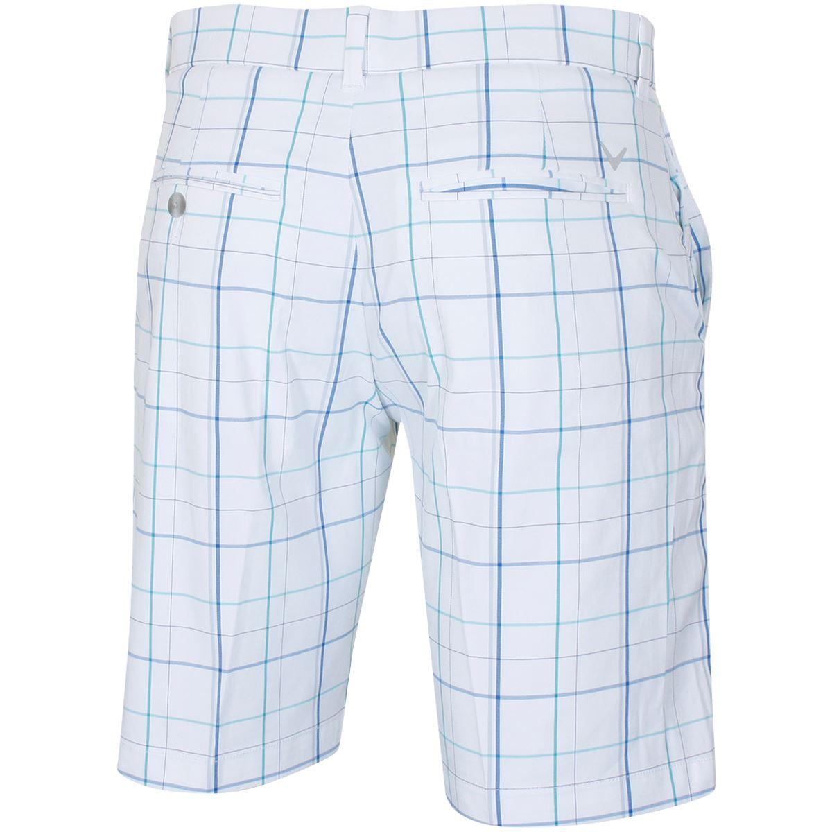 Callaway-Golf-Fashion-Plaid-Flat-Front-Mens-Stretch-Golf-Shorts thumbnail 5