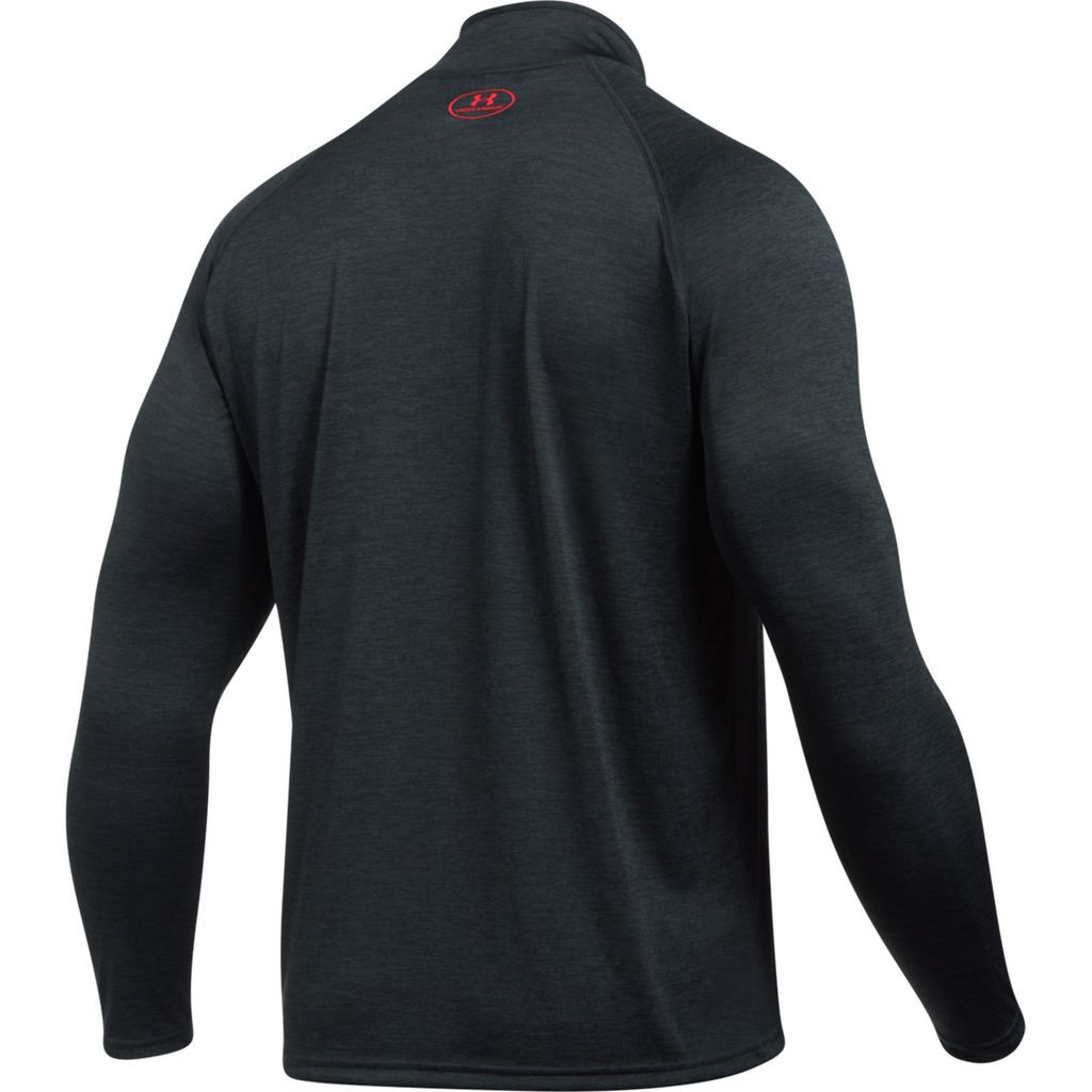 Under armour 2018 ua tech zip workout layer long sleeve for Under armour lifting shirts
