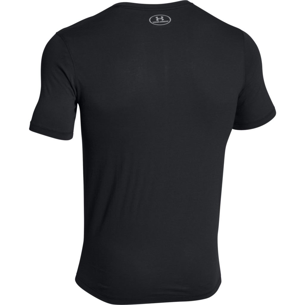 UNDER ARMOUR CHARGED COTTON SS T-SHIRT MENS MICROTHREAD TRAINING ... 93f7c7c6de0