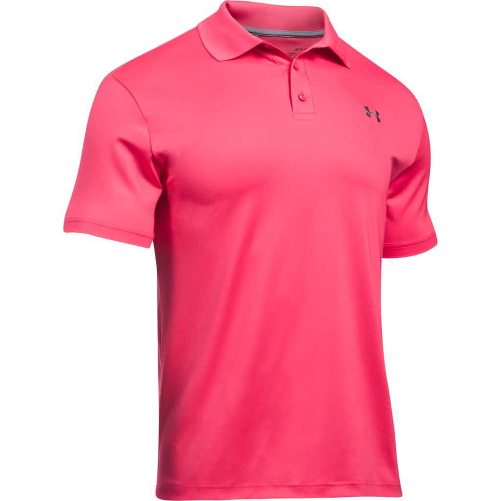 2018 under armour mens golf performance 2 0 logo chest golf polo shirt ebay. Black Bedroom Furniture Sets. Home Design Ideas