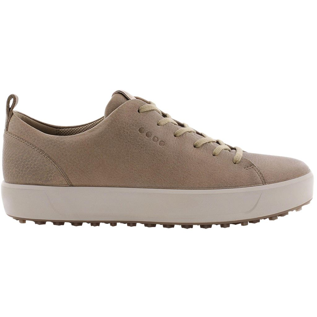 Détails sur Ecco Golf 2019 Mens Soft HYDROMAX Water Repellent Spikeless Leather Golf Shoes