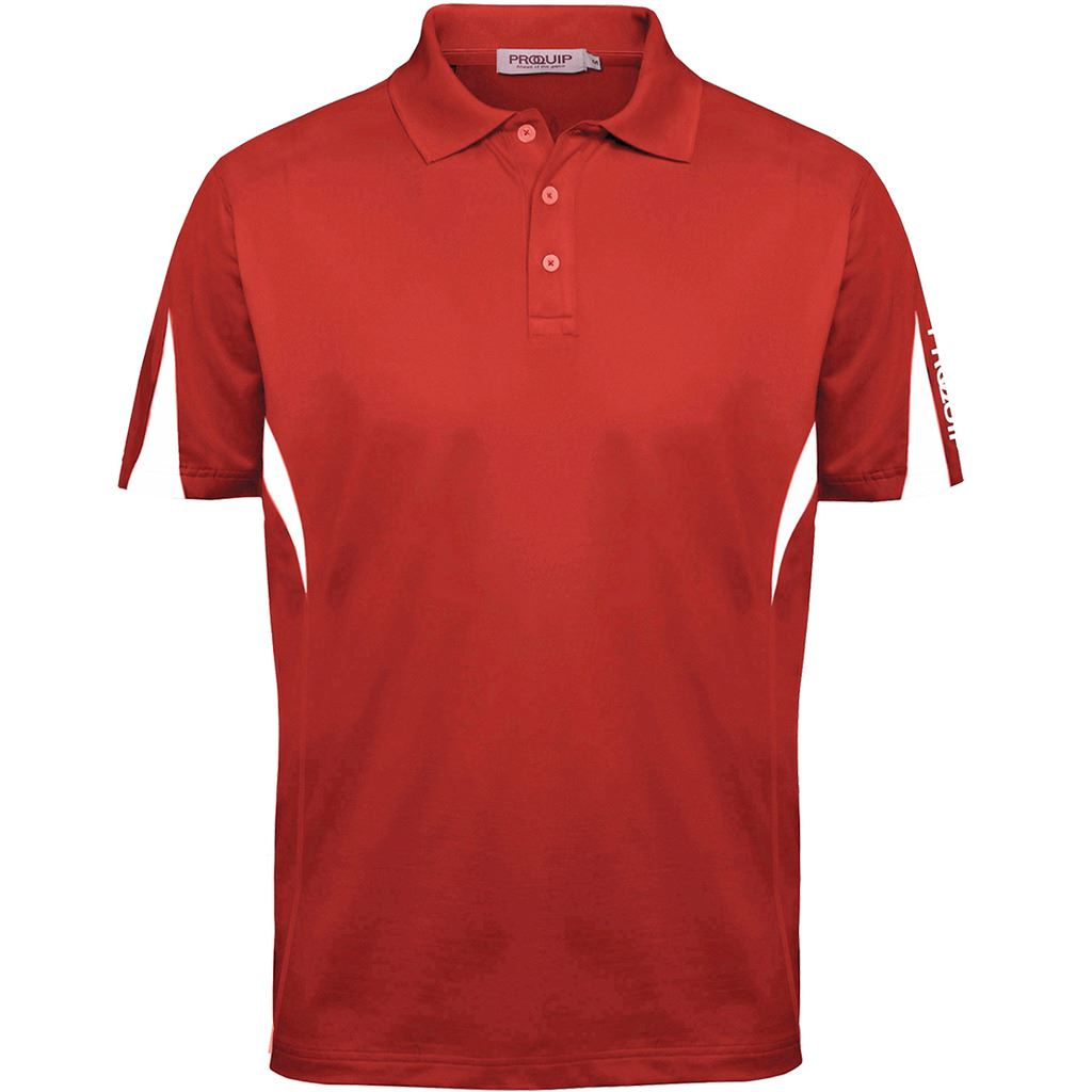 Proquip-Golf-Technical-Panelled-Mens-Short-Sleeve-Stretch-Golf-Polo-Shirt thumbnail 4