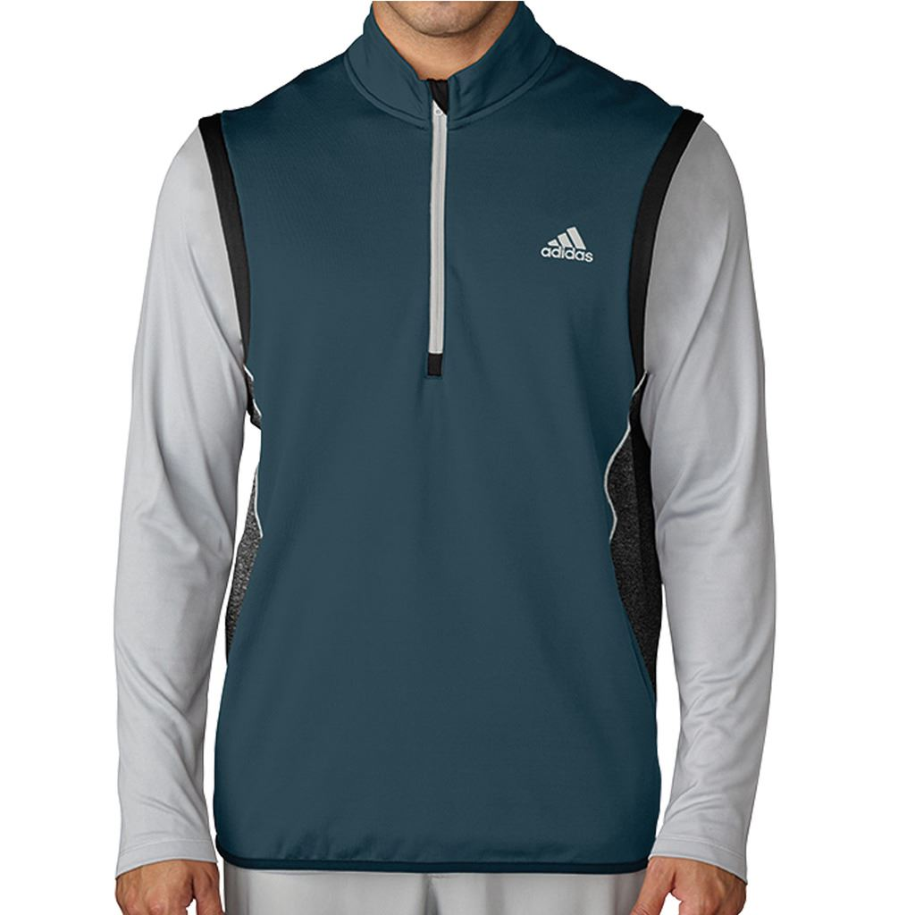 adidas-Golf-Layering-ClimaHeat-1-2-Zip-Gilet-Mens-Performance-Vest