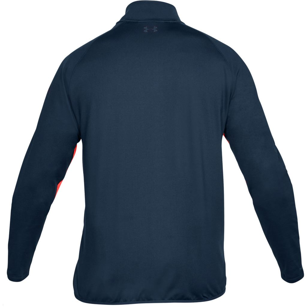 UNDER-ARMOUR-MENS-UA-GOLF-CRESTABLE-EU-MIDLAYER-1-4-ZIP-PULLOVER-TOP-SWEATER thumbnail 7